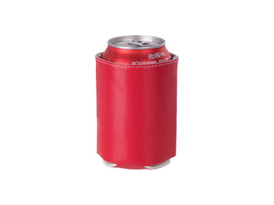 PU Can Cooler(Red)
