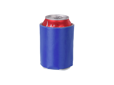 Leather Can Cooler(Dark Blue)